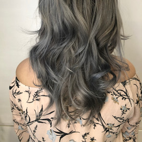 Granny Grey enso hair studio