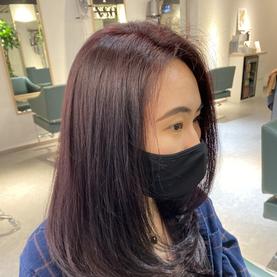 Pastel Voilet enso hair studio