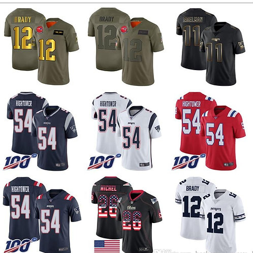 Patriot Jerseys 17 Antonio Brown Tom Brady Rob Gronkowski Julian Edelman James