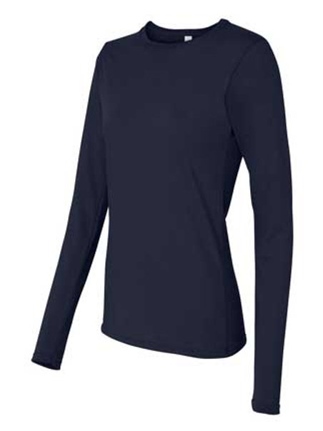 Gildan Ladies' 4.5 Ounce Softstyle® Fitted Long Sleeve T-Shirt