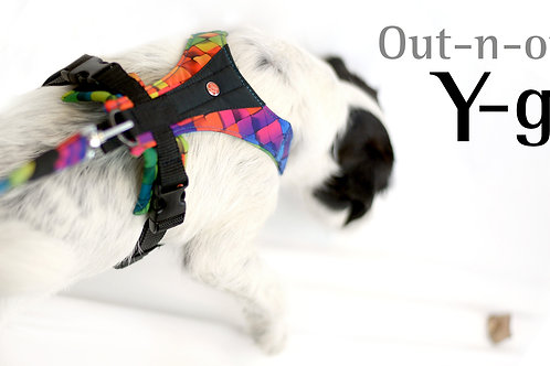 Out-n-out® Y-go is a flexible Y-harness made of softshel