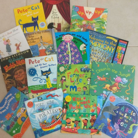 Our top 5 Story Song Books