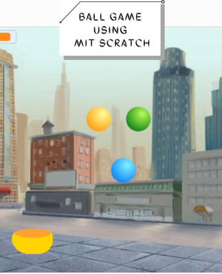 Ball Game using MIT Scratch