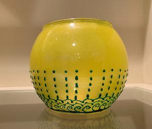 Decorative Bowl - Yellow - $20