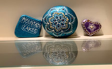 Personalized Painted Rocks can be ordered