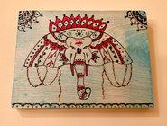 Wall Art - Elephant - $35