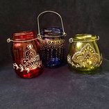 Glass Lanterns - $20 each