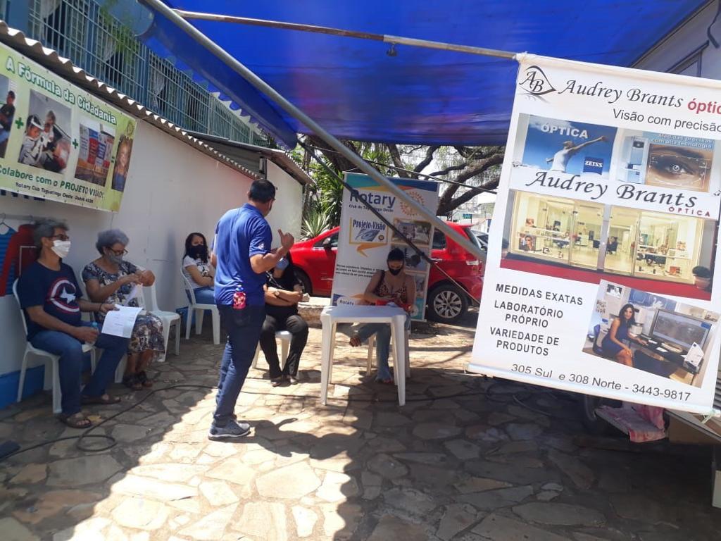 Trailer de Atendimento Oftalmológico do Rotary Club de Taguatinga Oeste