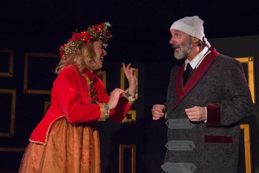 Ghost of Christmas Present / A CHRISTMAS CAROL / with James Sbano