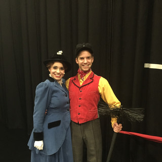 Backstage with Christopher Dederichs / MARY POPPINS