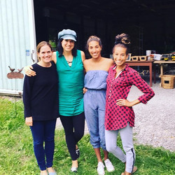Had some beautiful souls today visit A Pretty Good Farm. Thanks girls for being so excited for the y
