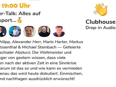 CLUBHOUSE - Insider-Talk auf Spitzensport +  SC Freiburg Vereinsheim