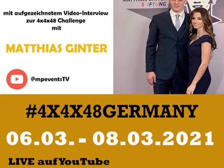 LIVE EVENTS -  4X4X48GERMANY - mit Matthias Ginter