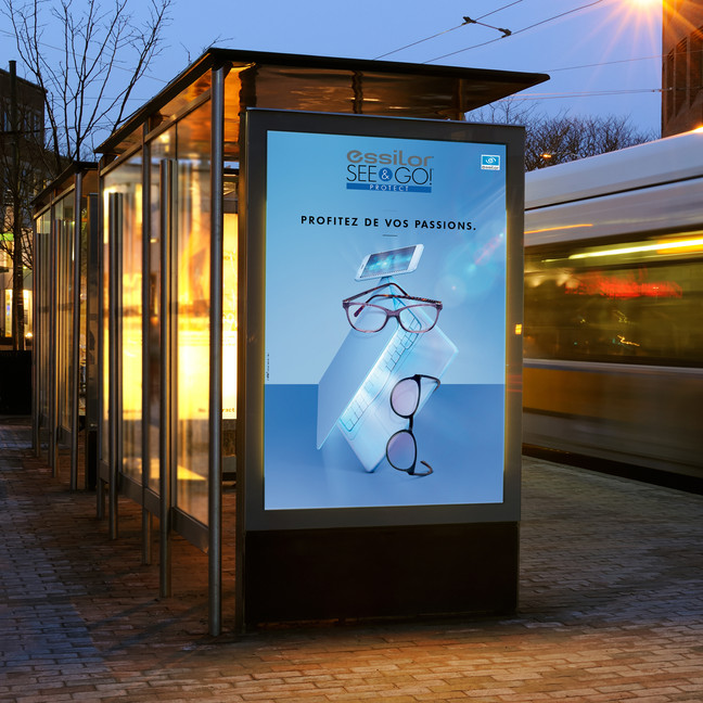 CAMPAGNE ESSILOR // SEE&GO!