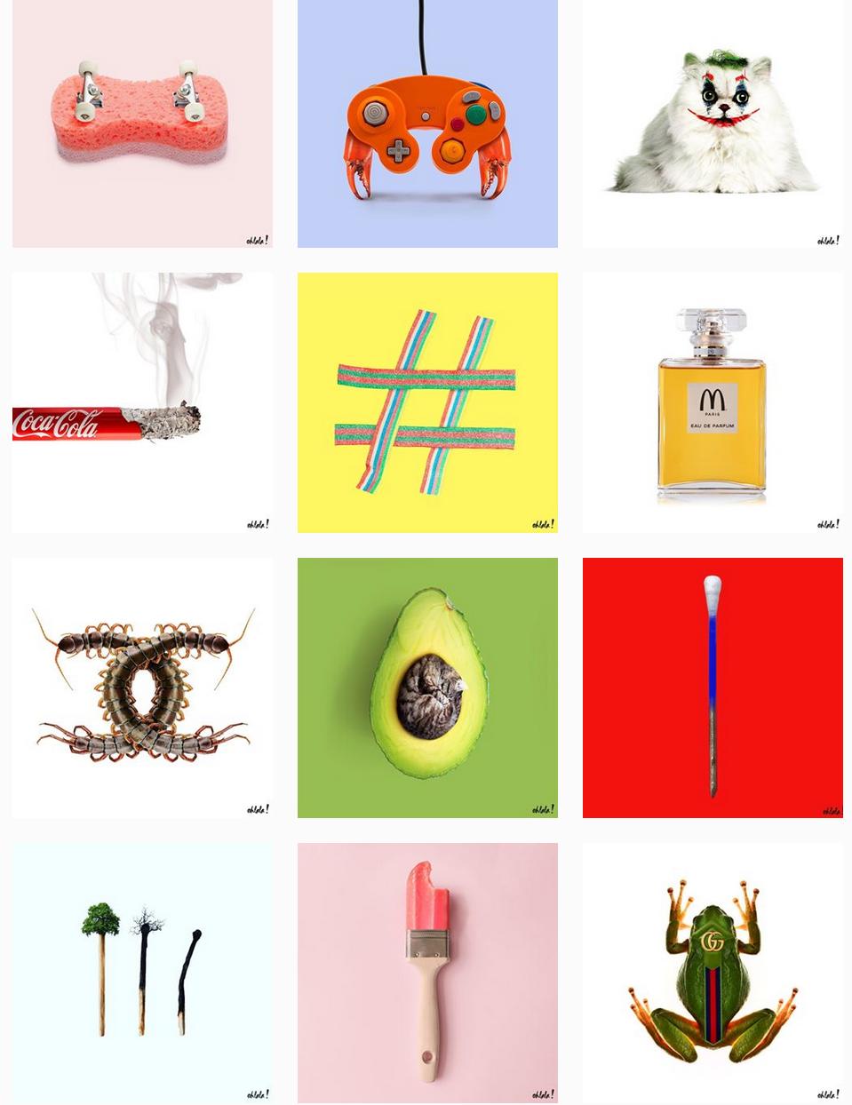 instagram ohlala! design
