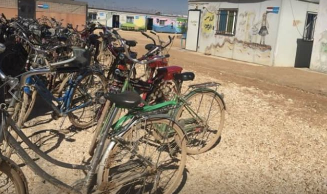 Bicycle Repair Program in Za'atari Camp