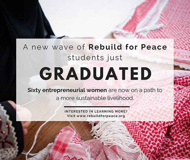 A New Wave of RFP Students Just Graduated! | Rebuild for Peace