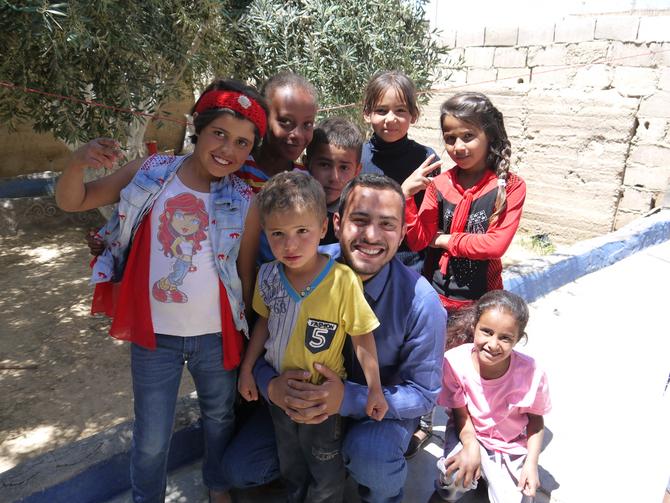 Hareth Altarawneh of Jordan: Why I Rebuild for Peace #WhyRFP