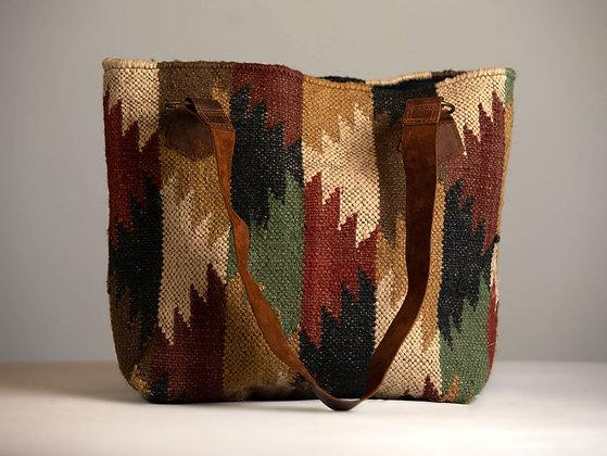 Kilim Carpet Tote Bag