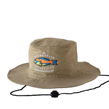 Parrotfish - Safari Hat - Khaki