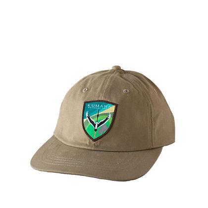 Kumana - Standard Cap Rounded Bill - Khaki