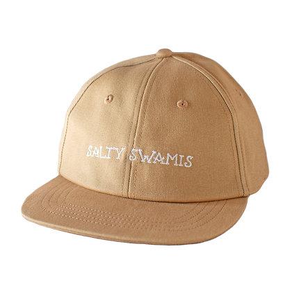 Salty Swamis - Standard Cap Flat Bill - Khaki