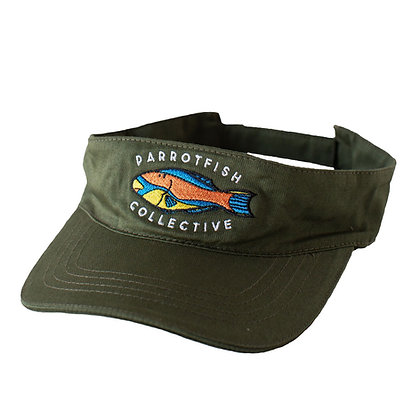 Parrotfish - Visor - Green