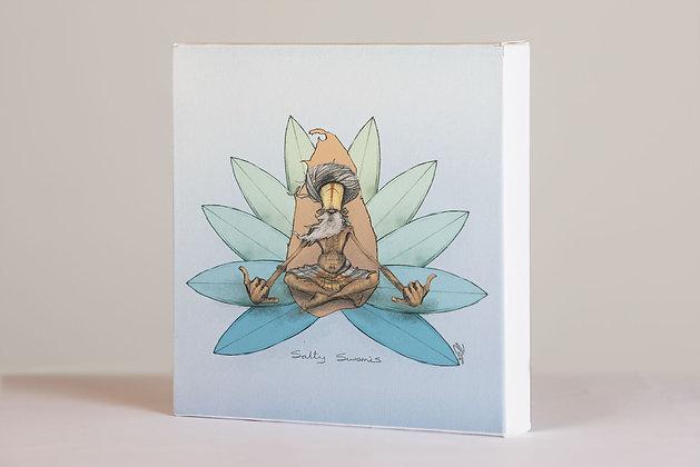 Lotus Mandala - Box Frame