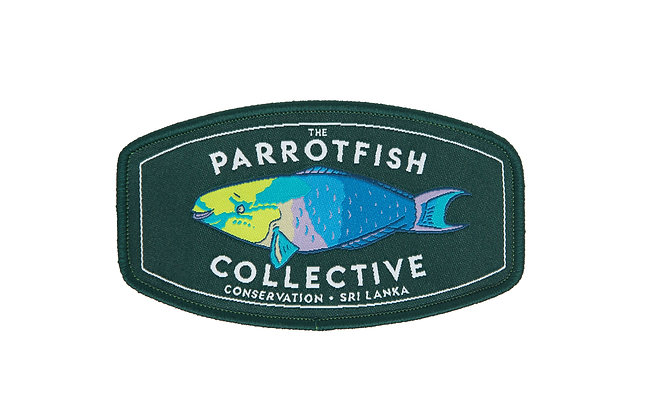 The Parrotfish Collective Patch - Retro