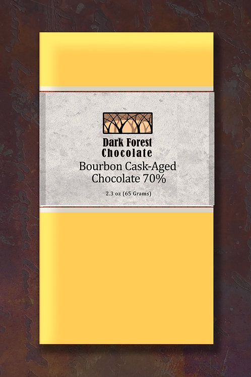 Bourbon Cask-Aged Chocolate 70%