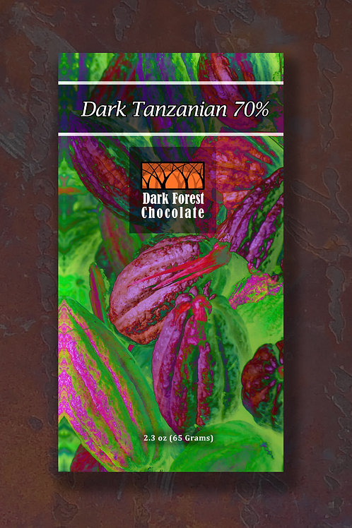 Dark Tanzanian 70% (Vegan)