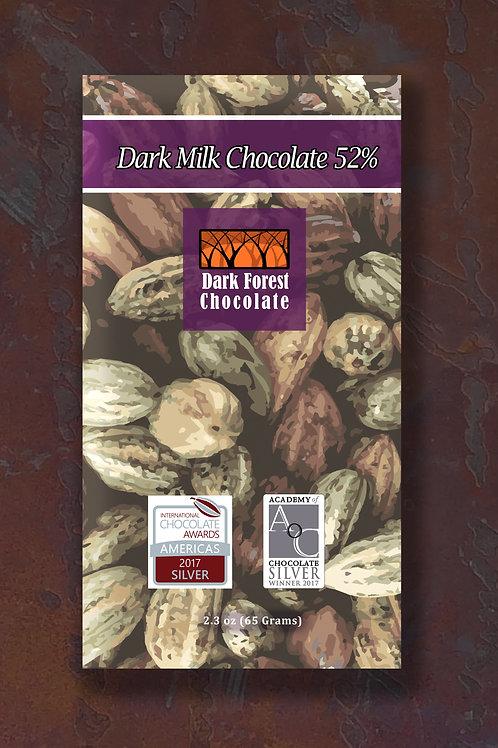 Dark Milk Chocolate 52%