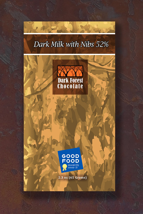 Milk with Nibs 52%