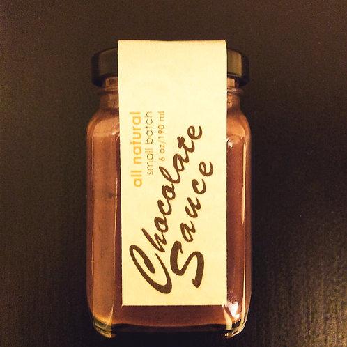 Chocolate Sauce (cinnamon pepper)