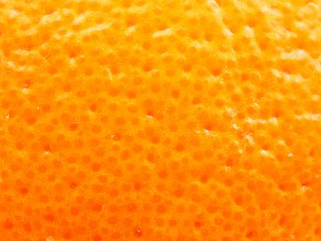 What is orange peel?