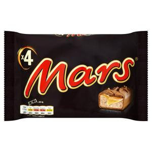 Mars Chocolate Bars Multipack 4