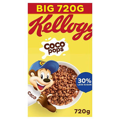 Kellogg's Coco Pops Cereal Big Pack 720g