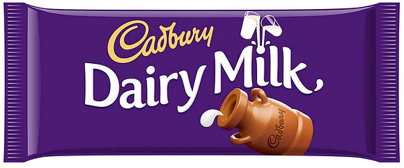 Cadbury Dairy Milk Chocolate Bar 110g