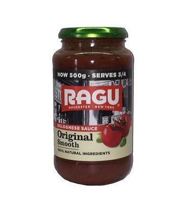 Ragu Original Smooth Sauce 500g L