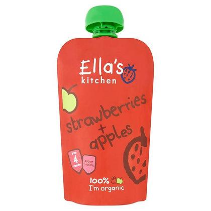 Ella's Kitchen Strawberries & Apples Pouch 120g