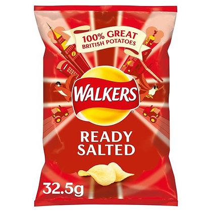 Ready Salted Walkers Crisps
