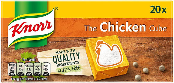 Chicken Stock Cubes Knorr