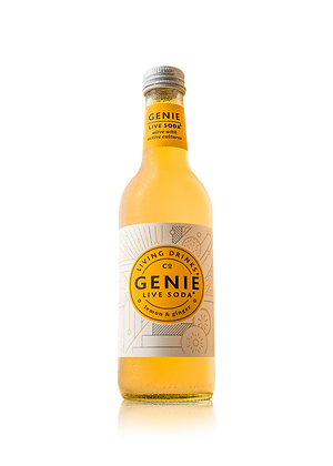 Genie Live Soda Lemon & Ginger