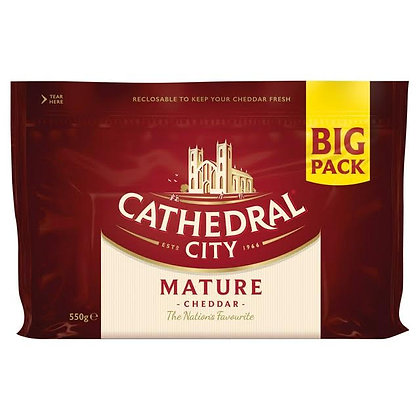 Cathedral City Mature Cheddar XL 550g