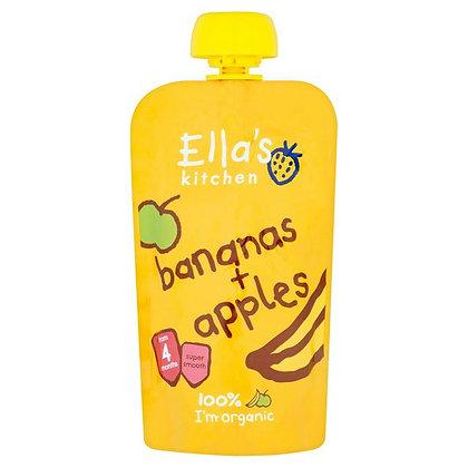 Ella's Kitchen Bananas & Apples Pouch 120g