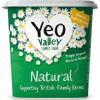 Yeo Valley Organic Natural Yogurt 1kg