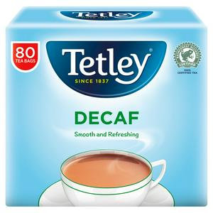 Tetley Tea Bags Decaf