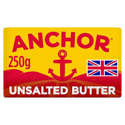 Anchor Butter Unsalted 250g