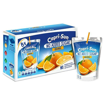 Capri-Sun Orange x8 200ml