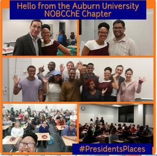 Visiting the Auburn University NOBCChE Chapter